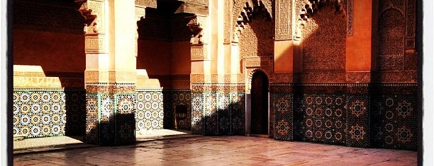 Medersa Ben Youssef is one of Morocco.