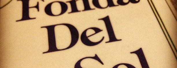 La Fonda Del Sol is one of Lieux sauvegardés par Jia-lin Sharlynn.