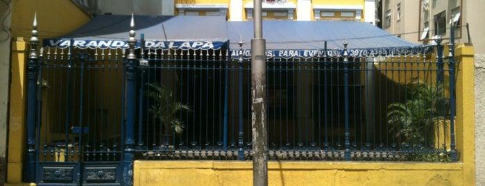 Varandas da Lapa is one of Quem tá no rock....