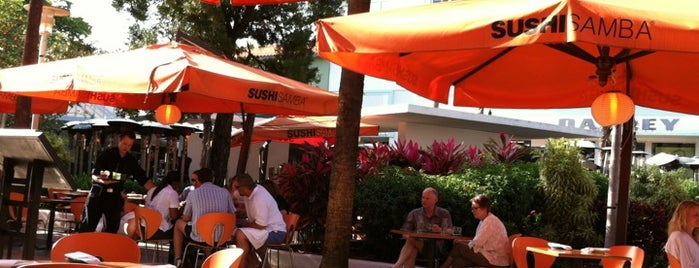 SUSHISAMBA is one of Top 7 South Beach Clubs, Bars & Snacks.