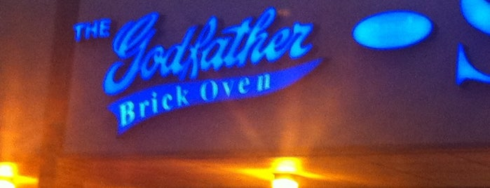The Godfather Pizzeria is one of Try.