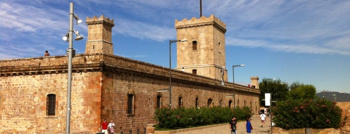 Castillo de Montjuic is one of Around Paral·lel.