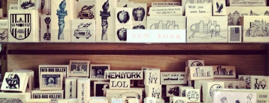 The Ink Pad is one of NYC Shopping.