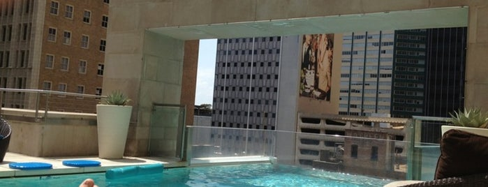 The Joule Pool is one of 67 Things to do in Dallas Before You Die or Move.