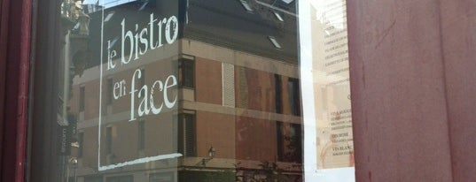 Le Bistro en Face is one of Martinさんの保存済みスポット.
