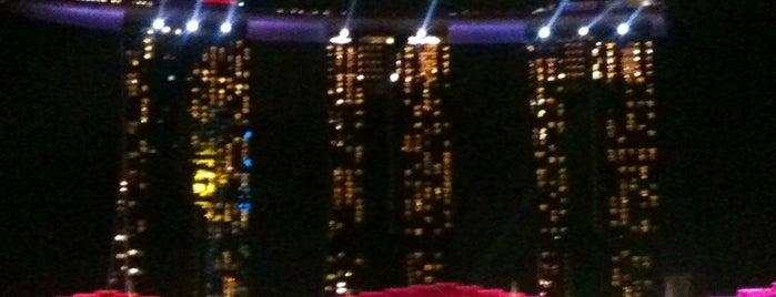 마리나 베이 샌즈 호텔 is one of Singapore.