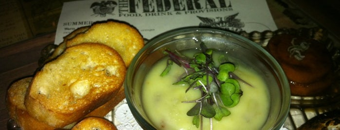 The Federal Food Drink & Provisions is one of New Times' Best of Miami 10x Level up - Checked.