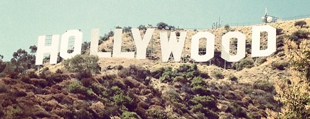 Hollywood Sign is one of Hopefully, I'll visit these places one day....