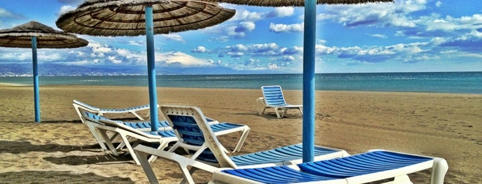 Playa de Playamar is one of สถานที่ที่บันทึกไว้ของ Julia.