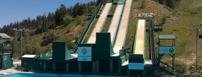 Utah Olympic Park is one of UTAH, Not Just Mormons.