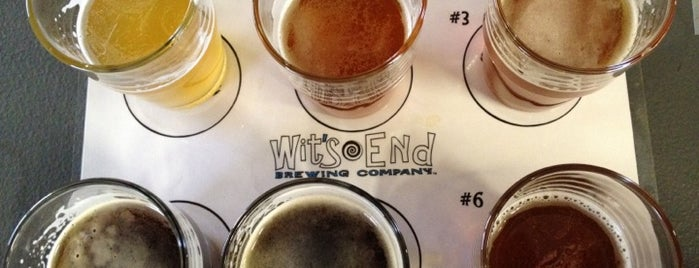 Wit's End Brewery is one of Craft Brewing Guide: Denver Colorado.