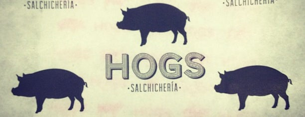 "Hogs is one of La ""Feria del Sánguche"" todo el año."