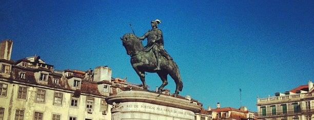 Praça da Figueira is one of 101 coisas para fazer em Lisboa antes de morrer.