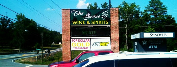 The Grove Wine & Spirits is one of Locais curtidos por Stephanie.