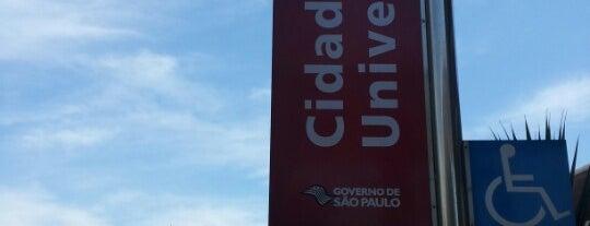 Estação Cidade Universitária (CPTM) is one of CPTM.