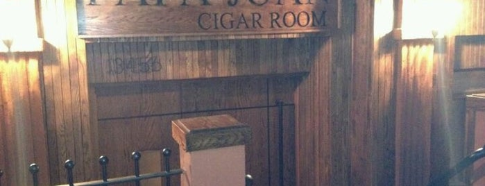Harlem Cigar Room is one of Nyc.