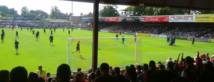 Bootham Crescent is one of Football Stadiums.