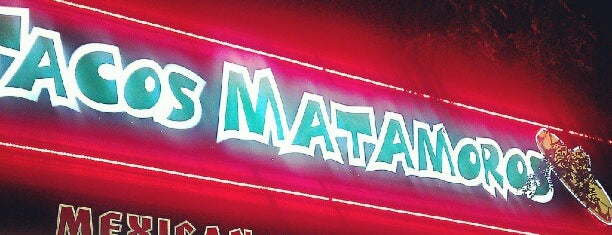 Tacos Matamoros is one of Local.
