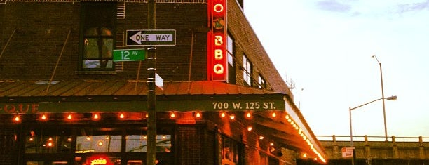 Dinosaur Bar-B-Que is one of NYC places to try.