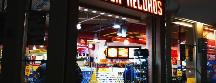 Tower Records is one of Tempat yang Disukai Adán.