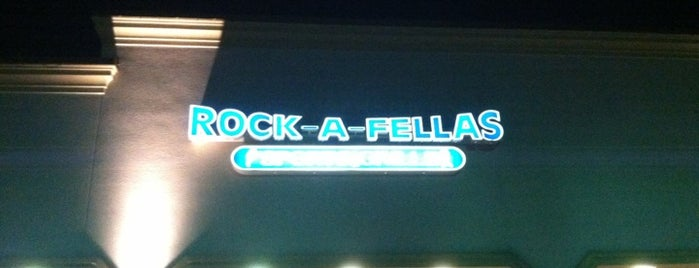 Rock-a-Fellas Sports Grille is one of Eats and Drinks.