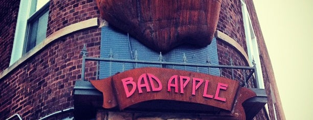 The Bad Apple is one of Locais salvos de Ruben.