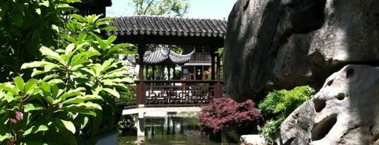 Lan Su Chinese Garden is one of Portland.