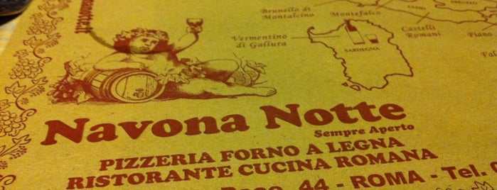 Ristorante Pizzeria Navona Notte is one of Roma.