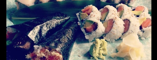 Ki Sushi is one of Top 25 BoCoCa Restaurants.