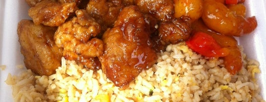 Panda Express is one of TJ's Rice & Meats.