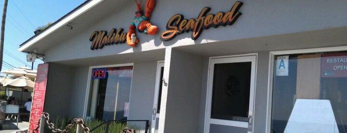 Malibu Seafood Fresh Fish Market & Patio Cafe is one of I love LA...we LOVE IT!.
