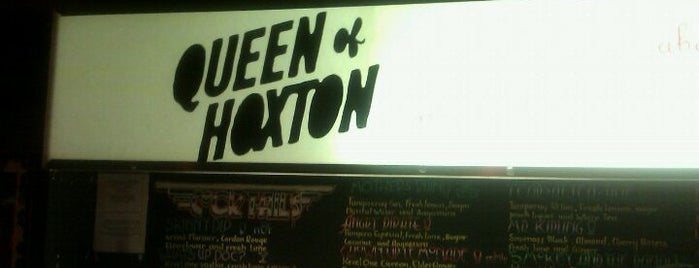 Queen of Hoxton is one of London Bars and Pubs.