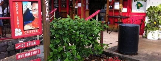 Kope Lani Coffee & Ice Cream is one of Kona.