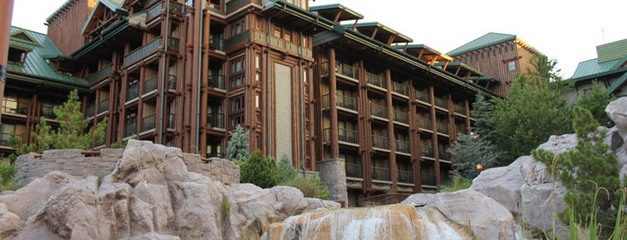 Disney's Wilderness Lodge is one of ORLANDO_ME List.
