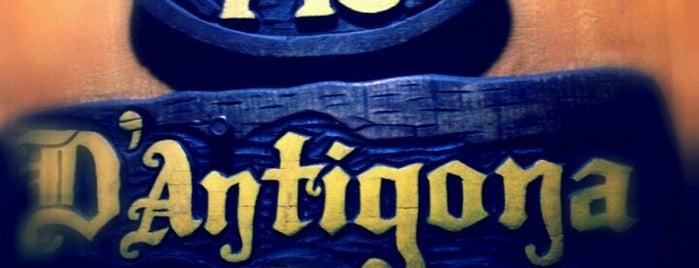 D'Antígona Pizza de Panela is one of Restaurantes, Bares e Coffee Shops favoritos.