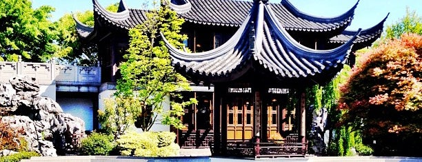 Lan Su Chinese Garden is one of Portlandia.