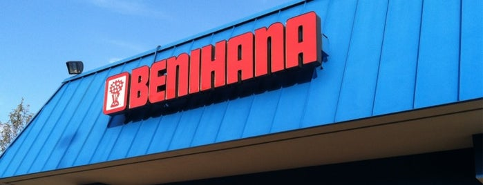 Benihana is one of Locais curtidos por Nina.