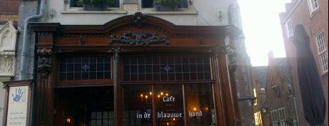 In de Blaauwe Hand is one of Misset Horeca Café Top 100 2012.