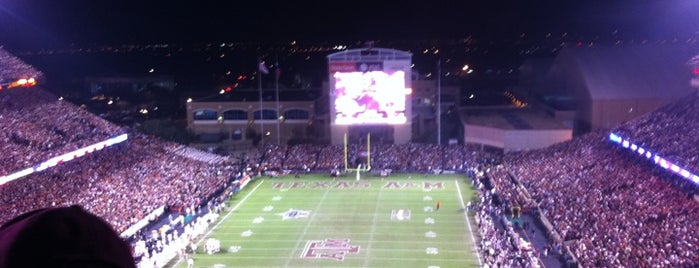Kyle Field is one of Stadiums Visited.