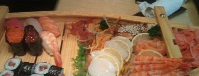 Желтое Море is one of Sushi. Kyiv. Японская кухня.