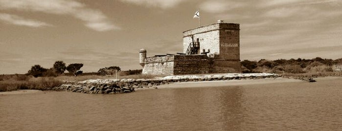 Fort Matanzas National Monument is one of St. Augustine, Florida.