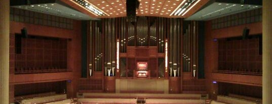 Morton H. Meyerson Symphony Center is one of Dallas Arts District.