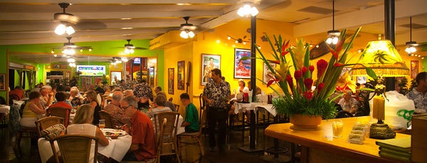 Jackie Rey's Ohana Grill is one of Hawai'i Favorites.
