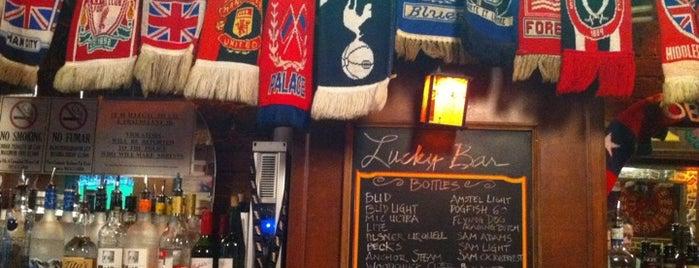 Lucky Bar is one of Washington, D.C.'s Best Sports Bars - 2013.
