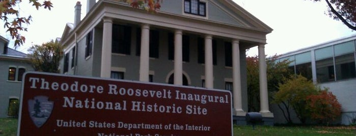 Theodore Roosevelt Inaugural National Historic Site is one of Locais curtidos por Laketa.