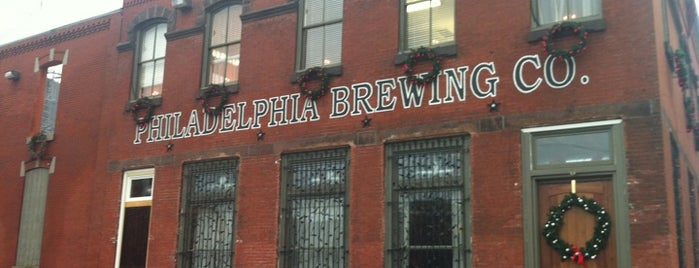 Philadelphia Brewing Company is one of Philly Bars.