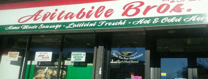 Avitable Bros. Deli is one of Restaurants.
