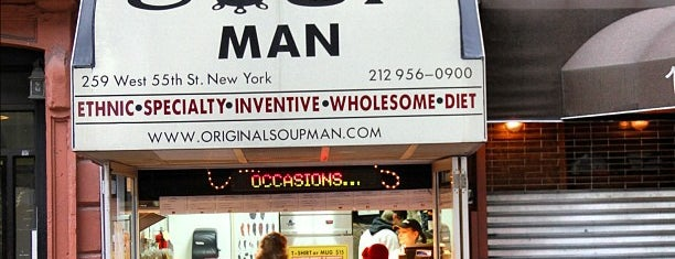 The Original Soupman is one of inexpensive lunches in midtown.
