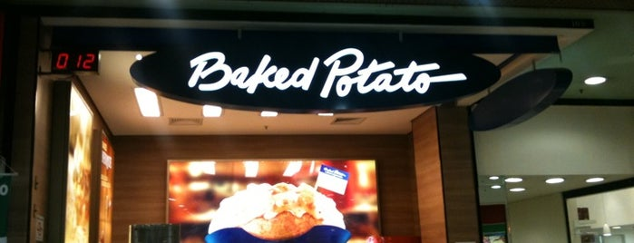 Baked Potato is one of Tempat yang Disukai M..