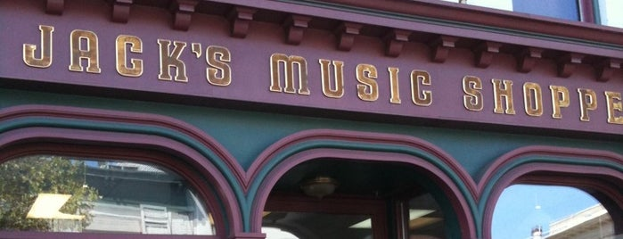 Jack's Music Shoppe is one of Lugares favoritos de Taylor.